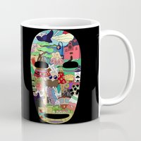 spirited away Mugs featuring No Face by Ilse S