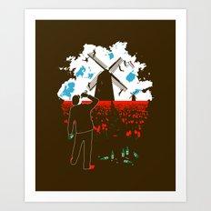 Dutch Courage Art Print