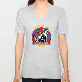 Plus Ultra Gym Unisex V-Neck
