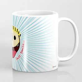 The Sbirù - Just Smile... Coffee Mug