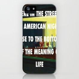 New York City Nighthawks iPhone Case