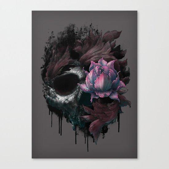 Death Blooms Canvas Print