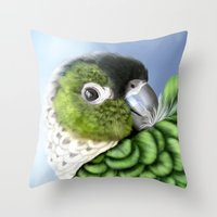 thorin Throw Pillows featuring Thorin by Lily Art