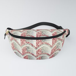 Arched Stamp Pattern Fanny Pack