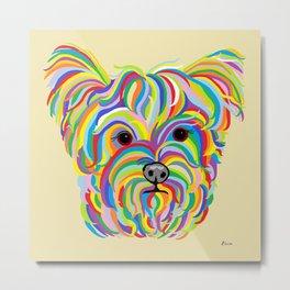 Yorkshire Terrier - YORKIE! Metal Print