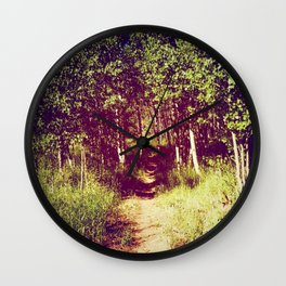 Narrow is the Path Wall Clock
