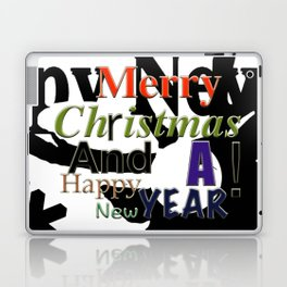 My Happy Christmas! Laptop & iPad Skin