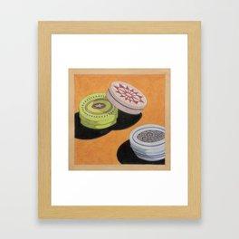 Small bowls n. 3 Framed Art Print