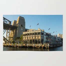 Pier One, Sydney Harbour Rug