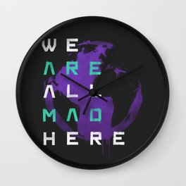 It's a Mad World, After All Wall Clock