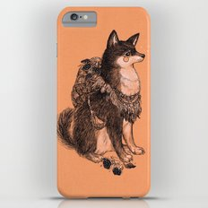 Shibe doge with mushrooms Slim Case iPhone 6 Plus