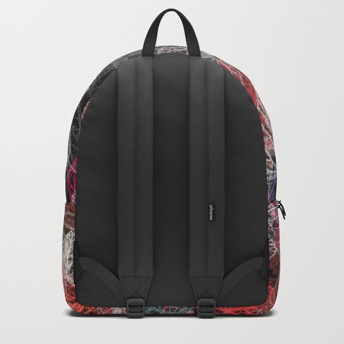 Leaf mosaic(25). Backpack