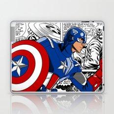 Captain 'merica Comic Laptop & iPad Skin