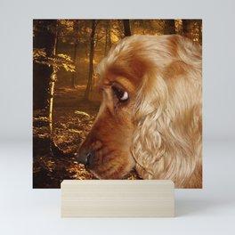 Dog Cocker Spaniel Mini Art Print