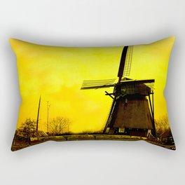 Dutch Windmill Rectangular Pillow