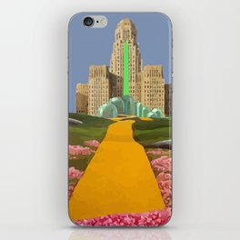 WIZARD OF HALL iPhone Skin