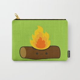 Sad log on fire Carry-All Pouch