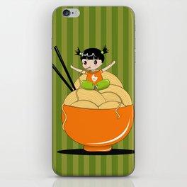 noodle..noodle.. noodle!!! iPhone Skin