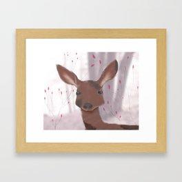 Dream Deer  Framed Art Print