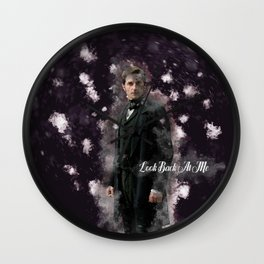 North and South - Mr Thornton - Richard Armitage - Look back at me-3 Wall Clock