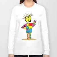 surfer Long Sleeve T-shirts featuring Surfer by Moisés Ferreira