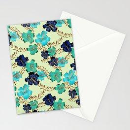 Multicolor elegant floral texture Stationery Cards