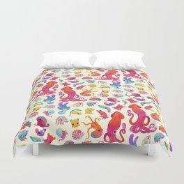Cephalopod - pastel Duvet Cover