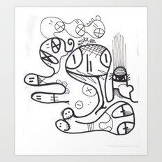 Crazzy II Art Print