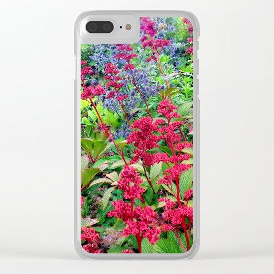 Flower Burst   Flower Garden   Flowers Clear iPhone Case