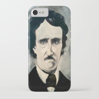 poe iPhone & iPod Cases featuring Poe by Christopher Chouinard