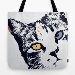 Comic Cat! Tote Bag