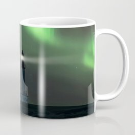 When the northern light appears Coffee Mug