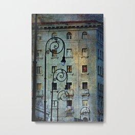 Malecon Metal Print