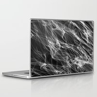 smoke Laptop & iPad Skins featuring Smoke. by Assiyam