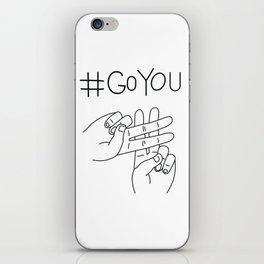 #GoYou iPhone Skin