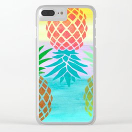 Abacaxi Clear iPhone Case