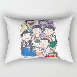 6 Same Faces Rectangular Pillow