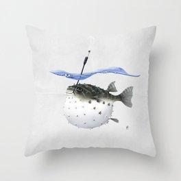 Take It Outside! (Wordless) Throw Pillow