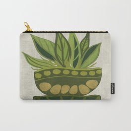 Still life Green plants Carry-All Pouch