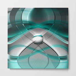 The Mobius Continuum Metal Print