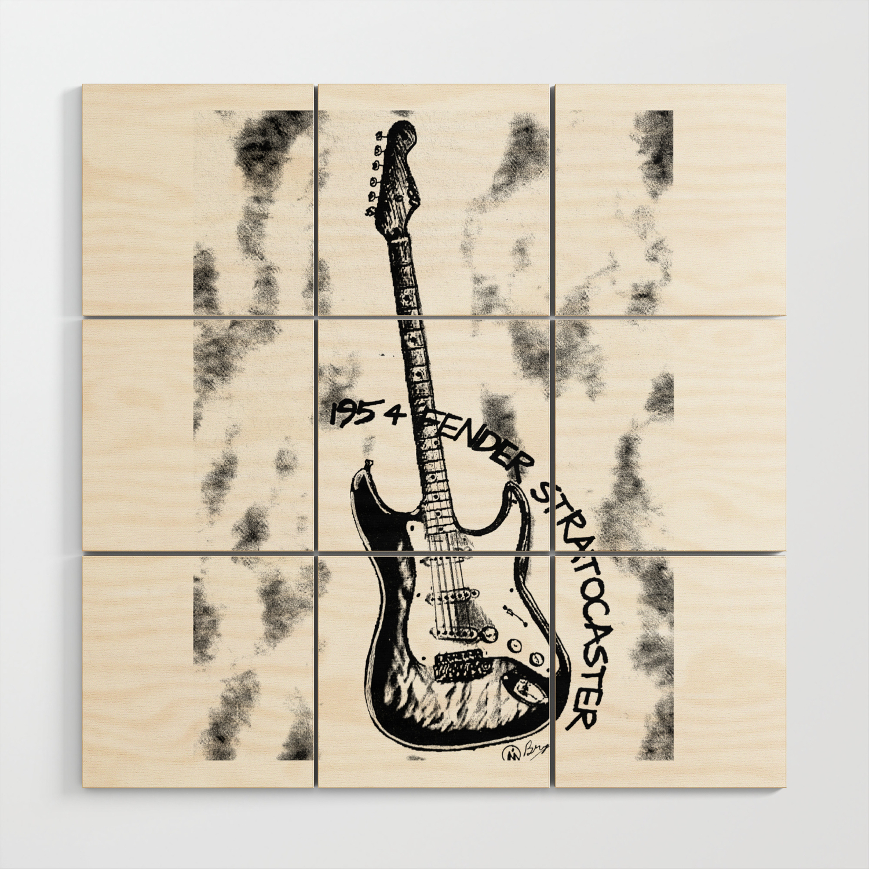 1954 Stratocaster Guitar Art Music