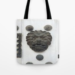Cartagena Lion Mug, Colombia, South American Tote Bag