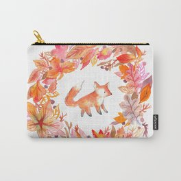 Fall Wreath Carry-All Pouch