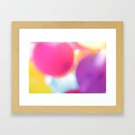 B A L L O O N S Framed Art Print