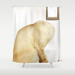 Im Rahmen der Katze Shower Curtain