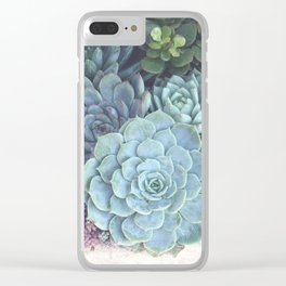 Succulent Container Clear iPhone Case