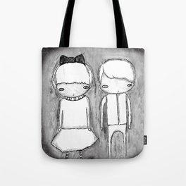 Indigo Twins Tote Bag