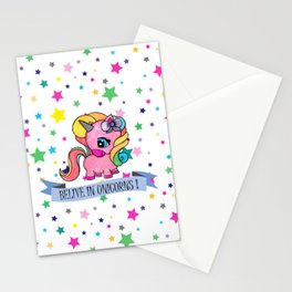 BELIVE IN UNICORNS Stationery Cards