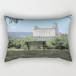 Summer day in Collingwood Rectangular Pillow