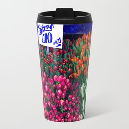 Flower market Travel Mug